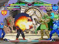 une photo d'écran de Marvel VS Capcom 2 sur Sega Dreamcast