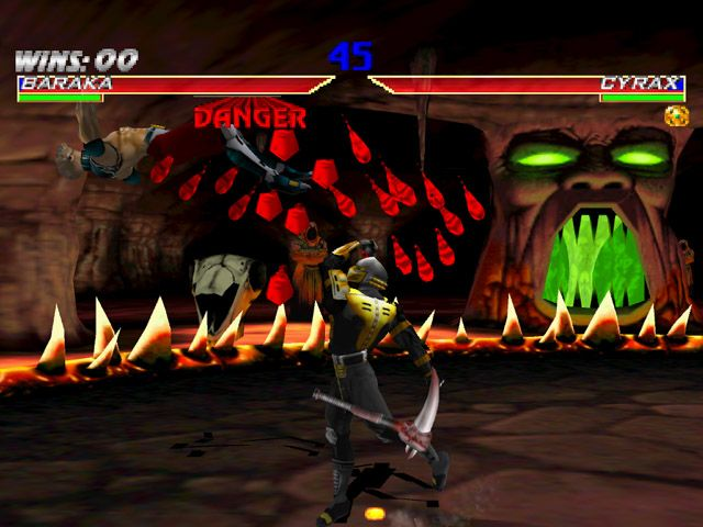 une photo d'écran de Mortal Kombat Gold sur Sega Dreamcast
