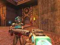 Quake 3 Arena (Dreamcast), capture d'écran