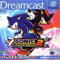 Photo de la boite de Sonic Adventure 2