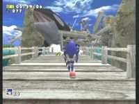 Sonic Adventure, capture décran