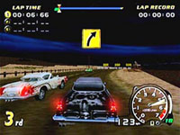 Speed Devils sur Sega Dreamcast