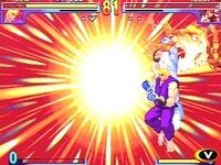 Street Fighter 3 - Double Impact, capture décran