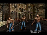 The Typing of the Dead, capture d'écran