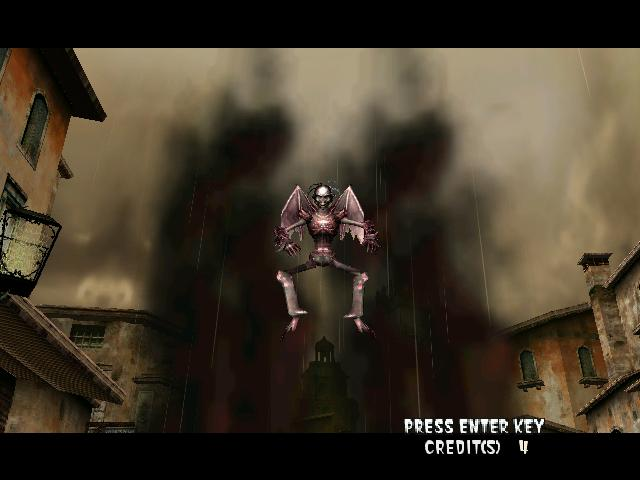 une photo d'écran de The Typing of the Dead sur Sega Dreamcast
