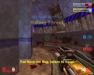 Unreal Tournament, capture d'écran