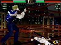 une photo d'écran de Virtua Fighter 3tb sur Sega Dreamcast