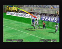 Virtua Striker 2 version 2000 sur Sega Dreamcast