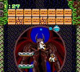 une photo d'écran de Devilish sur Sega Game Gear