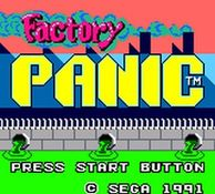 Factory Panic, capture décran