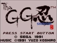 une photo d'écran de Shinobi sur Sega Game Gear