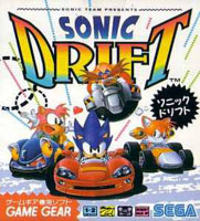 Photo de la boite de Sonic Drift