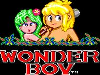 Wonder Boy (Game Gear), capture décran