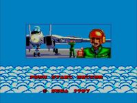 une photo d'écran de After Burner sur Sega Master System