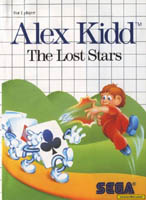Photo de la boite de Alex Kidd - The Lost Stars