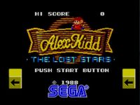 Alex Kidd - The Lost Stars, capture d'écran