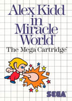 Photo de la boite de Alex Kidd in Miracle World