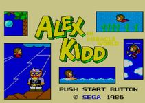 Alex Kidd in Miracle World, capture décran