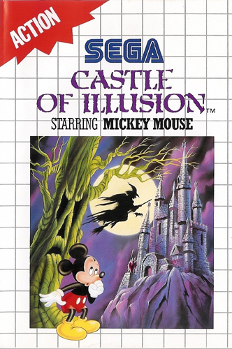 Photo de la boite de Castle of Illusion starring Mickey Mouse