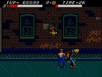 Streets of Rage (Master System), capture décran