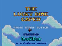 The Lucky Dime Caper Starring Donald Duck, capture décran