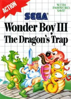 Photo de la boite de Wonder Boy III - The Dragon s Trap