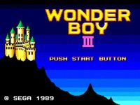 Wonder Boy III - The Dragon s Trap, capture décran