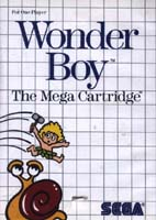 Photo de la boite de Wonder Boy