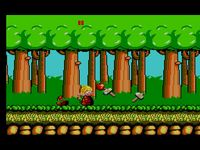 une photo d'écran de Wonder Boy sur Sega Master System