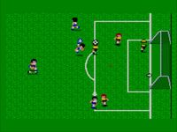 une photo d'écran de World Soccer sur Sega Master System