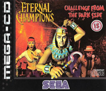 Photo de la boite de Eternal Champions - Challenge from the Dark Side