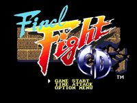 Final Fight CD, capture d'écran