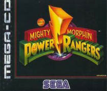 Photo de la boite de Mighty Morphin Power Rangers (Mega CD)
