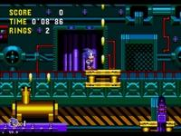 Sonic CD, capture décran