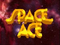 une photo d'écran de Space Ace sur Sega Mega-CD
