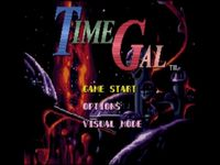 Time Gal sur Sega Mega-CD