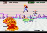 Space Harrier, capture d'écran