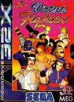Photo de la boite de Virtua Fighter (32X)