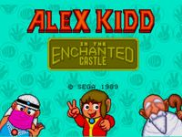 Alex Kidd in the Enchanted Castle, capture d'écran