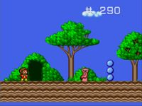 Alex Kidd in the Enchanted Castle sur Sega Megadrive