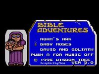 Bible Adventures, capture décran