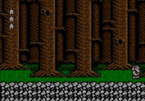 une photo d'écran de Bible Adventures sur Sega Megadrive