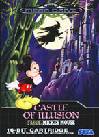 Photo de la boite de Castle of Illusion