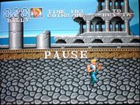 Double Dragon 3, capture décran