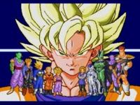Dragon Ball Z - L appel du destin, capture d'écran
