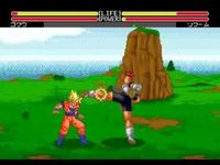 Dragon Ball Z - L appel du destin sur Sega Megadrive