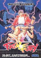Photo de la boite de Fatal Fury (Megadrive)