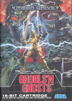 Photo de la boite de Ghouls n Ghosts