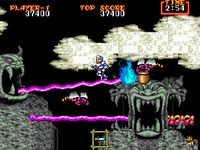 Ghouls n Ghosts, capture décran