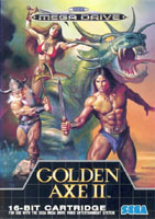Photo de la boite de Golden Axe 2